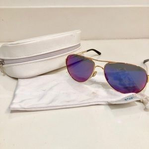 Oakley sunglasses purple lens